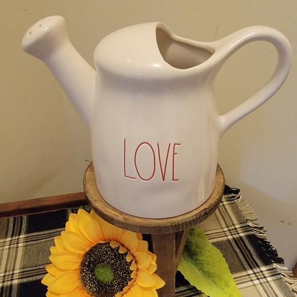 Rae Dunn Love Watering can